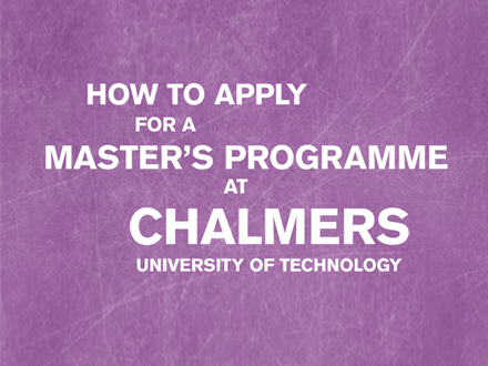 Chalmers - How to apply_440x330
